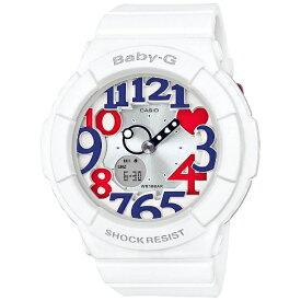 カシオ CASIO Baby-G(ベイビージー) 「White Tricolor Series」 BGA-130TR-7BJF[BGA130TR7BJF]