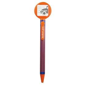 エポックケミカル EPOCH Chemical [ボールペン] ロケット付ボールペン 丸型 オレンジ 428-280