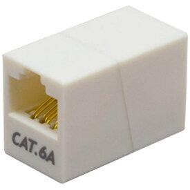 ミヨシ MIYOSHI 【カテゴリー6a】マグネット付き LAN中継アダプタ CAT-866AM