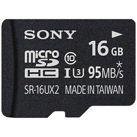ソニー SONY microSDHCカード SR-UX2Aシリーズ SR-16UX2A [16GB /Class10][SR16UX2A]