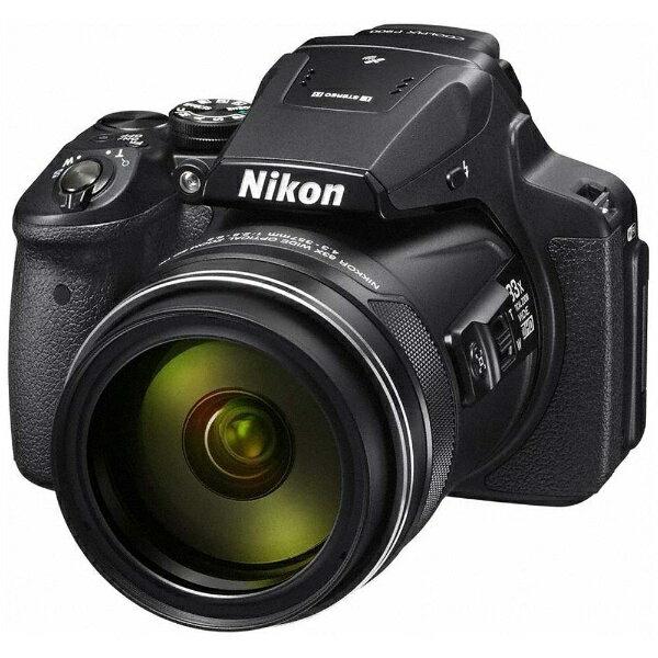 【送料無料】 ニコン コンパクトデジタルカメラ COOLPIX(クールピクス) P900[P900BK]