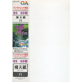 菅公工業 KANKO KOGYO モリ707 IJOA和紙 「冴」飛天紙 白B5/50[モリ707]【wtcomo】