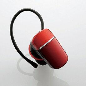 エレコム ELECOM LBT-HS40MMPRD ヘッドセット レッド [ワイヤレス(Bluetooth) /片耳 /イヤフックタイプ][LBTHS40MMPRD]