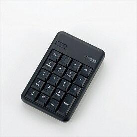エレコム ELECOM TK-TBM016 テンキー ブラック [Bluetooth /ワイヤレス][TKTBM016BK]