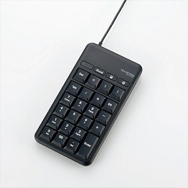 エレコム ELECOM TK-TCM015 テンキー ブラック [USB /コード][TKTCM015BK]