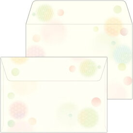 ササガワ SASAGAWA 16-1983 和ごころ封筒 水玉 洋2/10[161983]