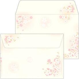 ササガワ SASAGAWA 16-1985 和ごころ封筒 枝桜 洋2/10[161985]