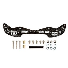 タミヤ TAMIYA 【ミニ四駆】GP.498 HG カーボンフロントワイドステー (1.5mm)