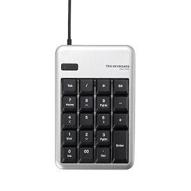 エレコム ELECOM TK-TCM012 テンキー シルバー [USB /有線][TKTCM012SV]