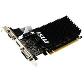 MSI エムエスアイ グラフィックボード NVIDIA GeForce GT 710搭載 PCI-Express MSI GT 710 2GD3H LP[2GB/GeForce GTシリーズ]【バルク品】 [GT7102GD3HLP]