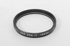 ライカ Leica フィルター E39 UVa II ブラック[フィルターE39UVAII]