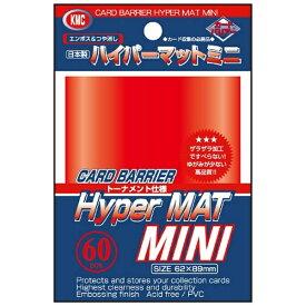 KMC ケイエムコーポレーション ハイパーマットミニ レッド(60枚入)