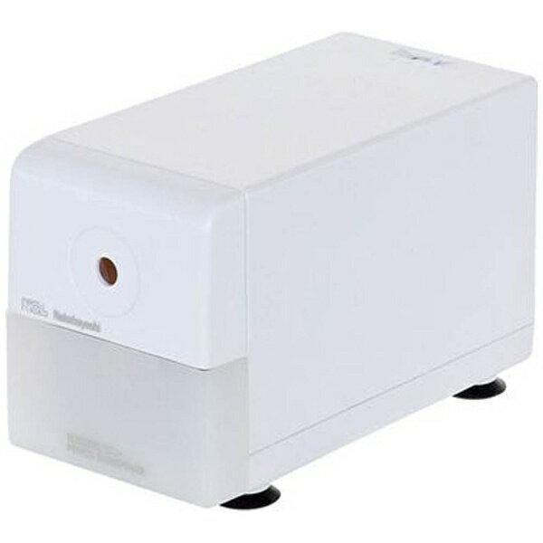 ナカバヤシ 電動えんぴつ削り 「スリムタイプ」 DPS-211W(ホワイト)