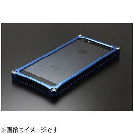 GILD design ギルドデザイン iPhone SE(第1世代)4インチ / 5s / 5用 ソリッドバンパー ブルー 41736 GI-262BL ストラップホール付