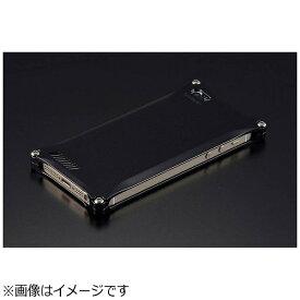 GILD design ギルドデザイン iPhone SE(第1世代)4インチ / 5s / 5用 ソリッド ブラック 41721 GI-260B ストラップホール付