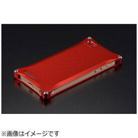 GILD design ギルドデザイン iPhone SE(第1世代)4インチ / 5s / 5用 ソリッド レッド 41722 GI-260R ストラップホール付