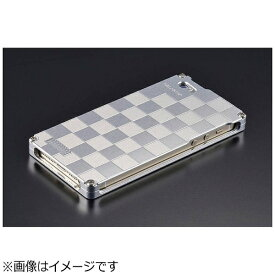GILD design ギルドデザイン iPhone SE(第1世代)4インチ / 5s / 5用 市松 シルバー 41742 GI-261IS