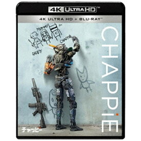 ソニーピクチャーズエンタテインメント Sony Pictures Entertainment チャッピー 4K ULTRA HD & ブルーレイセット 【Ultra HD ブルーレイソフト】