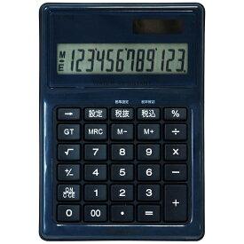 ナカバヤシ Nakabayashi 電卓デスクトップ 防水タイプMサイズ ブルー ECD-WR02BL [12桁][ECDWR02BL]