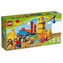 【送料無料】 レゴジャパン LEGO(レゴ) 10813 デュプロ デュプロのまち 工事現場とはたらく車