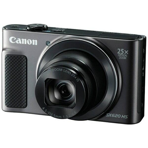 【送料無料】 キヤノン CANON コンパクトデジタルカメラ PowerShot(パワーショット) SX620 HS(ブラック)[PSSX620HSBK]