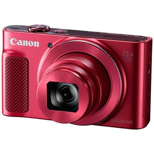 【送料無料】 キヤノン CANON コンパクトデジタルカメラ PowerShot(パワーショット) SX620 HS(レッド)[PSSX620HSRE]