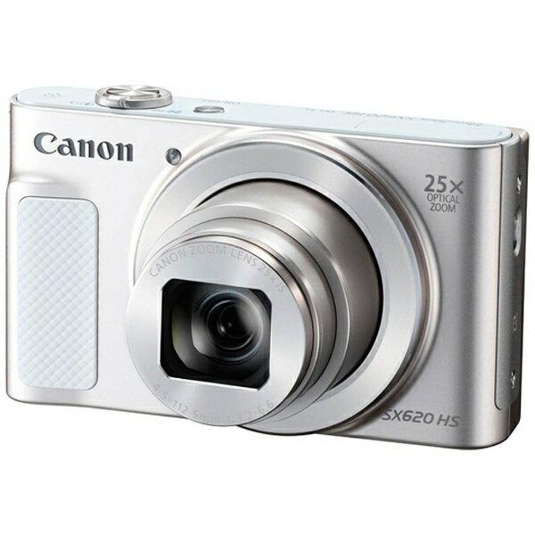【送料無料】 キヤノン CANON コンパクトデジタルカメラ PowerShot(パワーショット) SX620 HS(ホワイト)[PSSX620HSWH]
