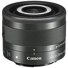 キヤノン CANON カメラレンズ EF-M28mm F3.5 マクロ IS STM ブラック [キヤノンEF-M /単焦点レンズ][EFM283.5MISSTMJ]