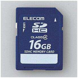 エレコム ELECOM SDHCカード MF-FSDC4Rシリーズ MF-FSD016GC4R [16GB /Class4][MFFSD016GC4R]