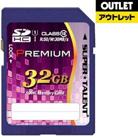 SUPERTALENT スーパータレント 【アウトレット品】SDHCカード Premiumシリーズ ST32SU1P [32GB /Class10]【数量限定品】ST32SU1P 【kk9n0d18p】