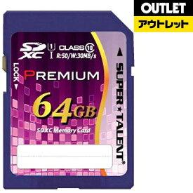SUPERTALENT スーパータレント 【アウトレット品】SDXCカード Premiumシリーズ ST64SU1P [64GB /Class10]【数量限定品】ST64SU1P 【kk9n0d18p】