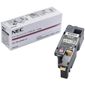 NEC エヌイーシー PR-L5600C-12 純正トナー トナーカートリッジ マゼンタ[PRL5600C12]【wtcomo】