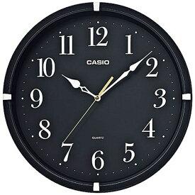 カシオ CASIO 掛け時計 ブラック IQ-88-1JF