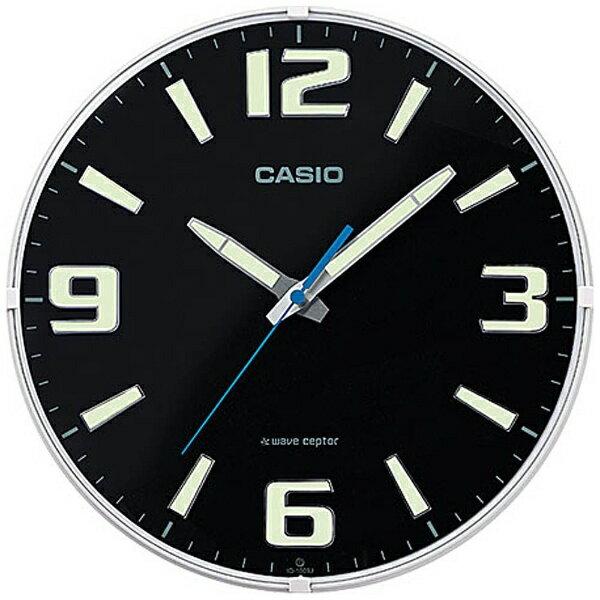 カシオ CASIO 電波掛け時計 IQ-1009J-1JF[IQ1009J1JF]