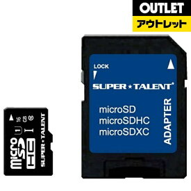 SUPERTALENT スーパータレント 【アウトレット品】microSDHCカード Premiumシリーズ ST16MSU1P [16GB /Class10]【数量限定品】ST16MSU1P 【kk9n0d18p】