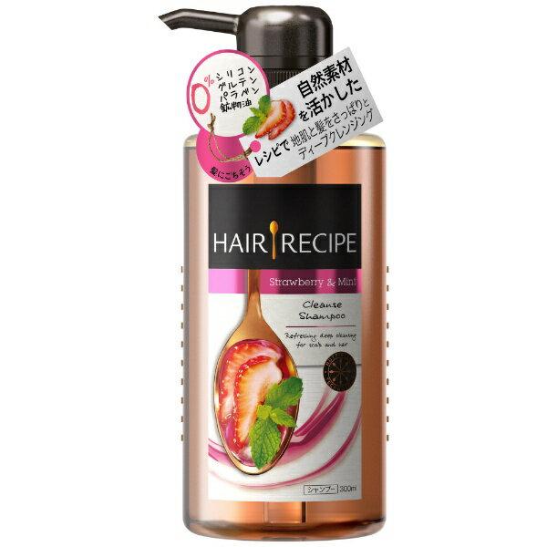 P&G ピーアンドジー HAIR RECIPE(ヘアレシピ)ミントブレンド クレンジングレシピ シャンプー (300ml)〔シャンプー〕