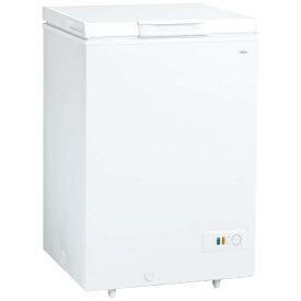 AQUA アクア 《基本設置料金セット》AQF-10CE 冷凍庫 スノーホワイト [1ドア /上開き /103L][AQF10CEスノーホワイト]