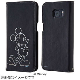 レイアウト rayout Galaxy S7 edge用 ディズニー 手帳型ケース ホットスタンプ ミッキー RT-DGS7EI/MK