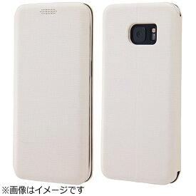レイアウト rayout Galaxy S7 edge用 手帳型ケース フィット ホワイト RT-JGS7ELC3/W