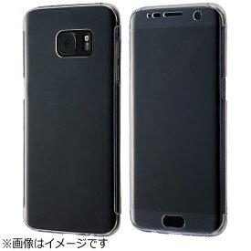 レイアウト rayout Galaxy S7 edge用 ハードケース 2Hコート フルカバー クリア RT-GS7ETC8/CM