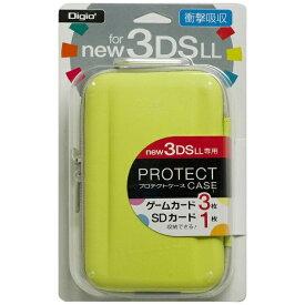 ナカバヤシ Nakabayashi ニンテンドーNew3DS LL用 プロテクトケース ライム【New3DS LL】