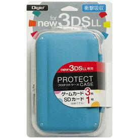 ナカバヤシ Nakabayashi ニンテンドーNew3DS LL用 プロテクトケース ブルー【New3DS LL】
