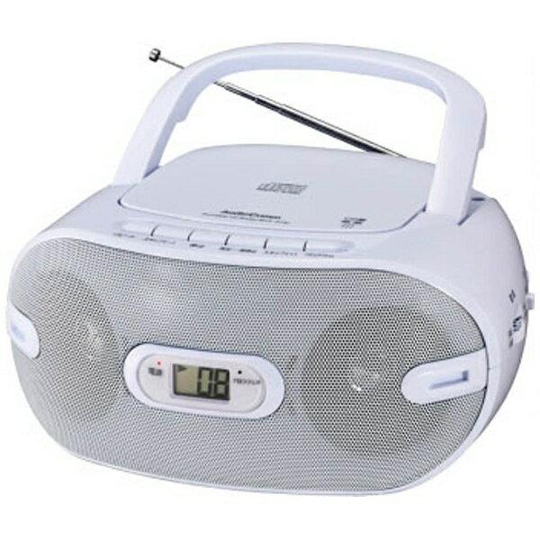 オーム電機 OHM ELECTRIC RCR-871Z CDラジオ AudioComm [ワイドFM対応][RCR871Z]