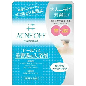 マックス MAX 薬用アクネオフピールバス 重曹湯の入浴剤(500g) [入浴剤]