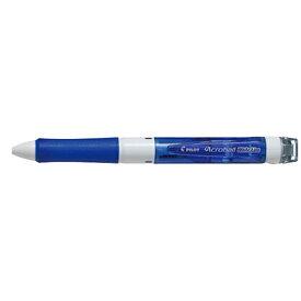 パイロット PILOT [多機能ペン] アクロボール ホワイトライン クリアブルー (ボール径:0.7mm、インキ色:黒・赤・青) BKAW-60F-CL