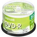 日立マクセル 1〜16倍速対応 データ用DVD-Rメディア (4.7GB・50枚) DR47PWE.50SP