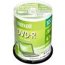 【あす楽対象】 日立マクセル 1〜16倍速対応 データ用DVD-Rメディア (4.7GB・100枚) DR47PWE.100SP