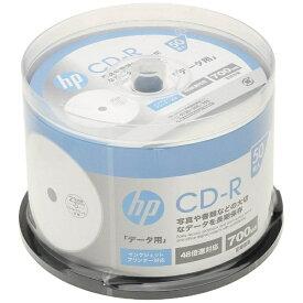 HP ヒューレット・パッカード CDR80CHPW50PA データ用CD-R [50枚 /700MB /インクジェットプリンター対応]