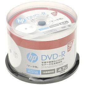 HP ヒューレット・パッカード DR47CHPW50PA データ用DVD-R [50枚 /4.7GB /インクジェットプリンター対応]