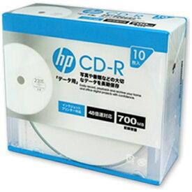 HP ヒューレット・パッカード CDR80CHPW10A データ用CD-R [10枚 /700MB /インクジェットプリンター対応]